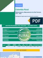Presentación Inversiones Red Terciaria - 24-03-2021