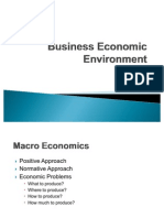 Economic Environment vivekanand