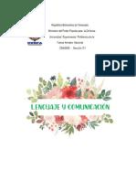 El Lenguaje y la comunicación dia