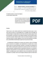 Lozano, R. A.,  Burgos, A. J. V. (2008). 10. Modelo educativo y recursos tecnológicos.