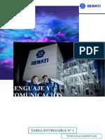 ACTIBIDAD ENTREGABLE N° 1- LENGUAJE Y COMUNICACIÓN