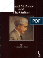 Manuel M. Ponce and the guitar