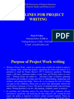 III-Sem-Day-7-Session-2-Prof_ P_V_ Rao -Guidelines for Project Writing