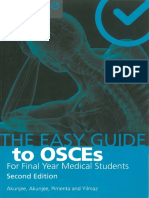 The Easy Guide to OSCEs for Final Year Medical Students, Second Edition ( PDFDrive )