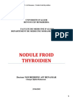 nodule froid thyroidien (conférence)