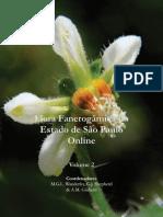 A Flora Fanerogâmica de São Paulo - Volume 2