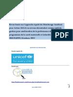 Draft N_3 Rapport Provisoire Revue Maa-unicef-rdc072019
