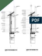 Ejemplo corte por fachada