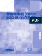 Compendio de Criterios Jurídicos-Laborales Real Card 1999-2010