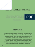 Patagonia a Lo Largo de Un Siglo en Las Revistas Nature y Science-Prieto y Silva