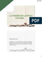 Tema 02 - Evolución Físico Espacial de La Vivienda en El Salvador - Época Colonial