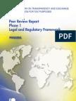 Peer Review Report Phase 1 Legal and Regulatory Framework - Panama