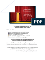 The Power of Presentations Sample