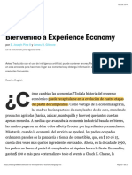 Welcome to the Experience Economy