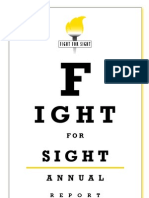 Fight for Sight - Annual Report