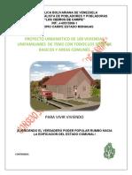 PROYECTO DE VIVIENDAS LOS CEDROS DE CARIPE 2015