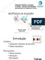 Aula Biofísica Da Audição Marcos Viana