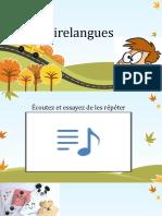 2 Les Virelangues Et Marque-pages