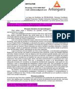 2º E 3º SEMESTRE PEDAGOGIA 2021 - A Formação Do Professor Frente Às Teorias e Concepções Pedagógicas Contemporâneas.