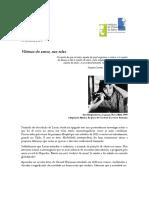 Programa Núcleo Psicanálise e Audiovisual 2021 in progress 12 abril