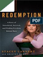 Redemption by Stacey Lannert and Kristen Kemp - Excerpt