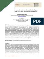 PATACA e FRANCO. Implementação de bancos de dos georeferenciados das Viagens Filosóficas Portuguesas