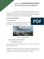 Chapitre 4 Les Effets de La Pollution Sur Lenvironnement