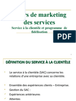 cours marketing des services  stratégie de fidélisation 2020