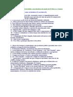 Características da poesia Reis e Campos - V ou F