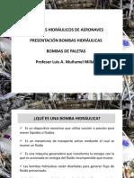 5 Bombas Hidráulicas Aeronáuticas - Bombas de Paletas