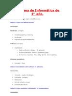 Programa de Informática de 1er 2011