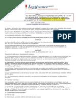 06.08.01 - Arrêté du 1 août 2006  - Dispositions en ERP ou IOP neufs