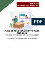 Proyecto educativo 2021