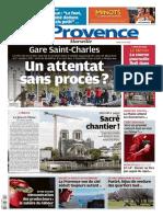 Journal La provence Marseille 15-04-2021