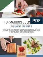 Catalogue Atelier Des Chefs