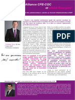 PF CFE-CGC UNSA Election CA EDF