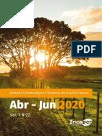 BoletimClimatologicoTrimestral-ES-v.7-n.22-abr-jun-2020