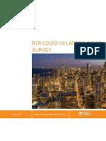 RTA COVID-19 Lapsed Rider Survey - Final Report