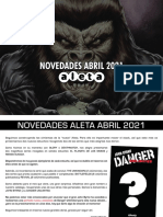 Novedades Aleta Ediciones Abril 2021