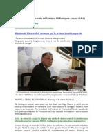 Comentarios a La Entrevista Del Ministro de Electricidad (Rodriguez Araque)