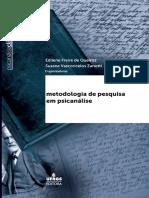 Metodologia de pesquisa em psicanálise