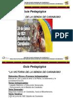 Guía Pedagógica Senda de Carabobo. Momento II 16 de marzo 2021