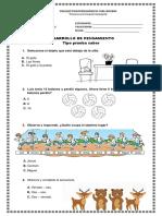 Ficha Desarrollo de Pensamiento(55 copias)