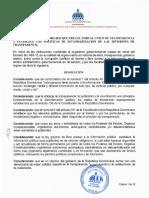Resolución DIGEIG No. 002-2021