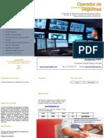 Dossier Informativo - Operador de Seguridad