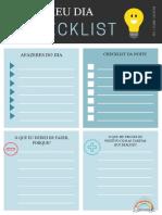 Meu checklist recurso