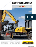 New Holland Excavators Spec 4c4771