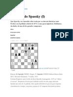 El retorcido Spassky