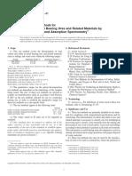 ASTM E1915-01 Analysis of Metal-Bearing Ores