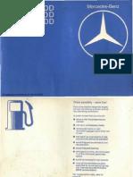 mercedes-benz w123 300d factory service manual